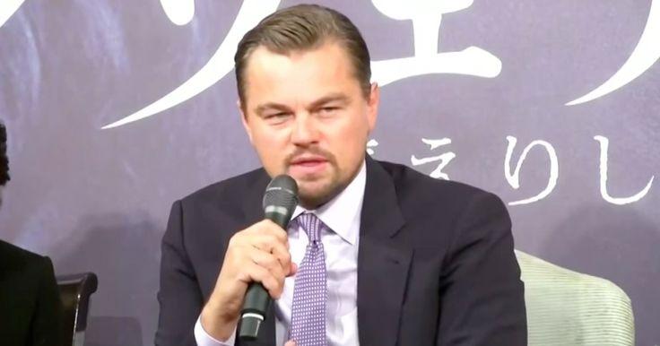 Leonardo DiCaprio Attacks Republicans For Denying Global Warming