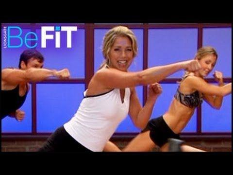 ▶ Kickboxing Cardio Sculpt & Burn Workout - YouTube