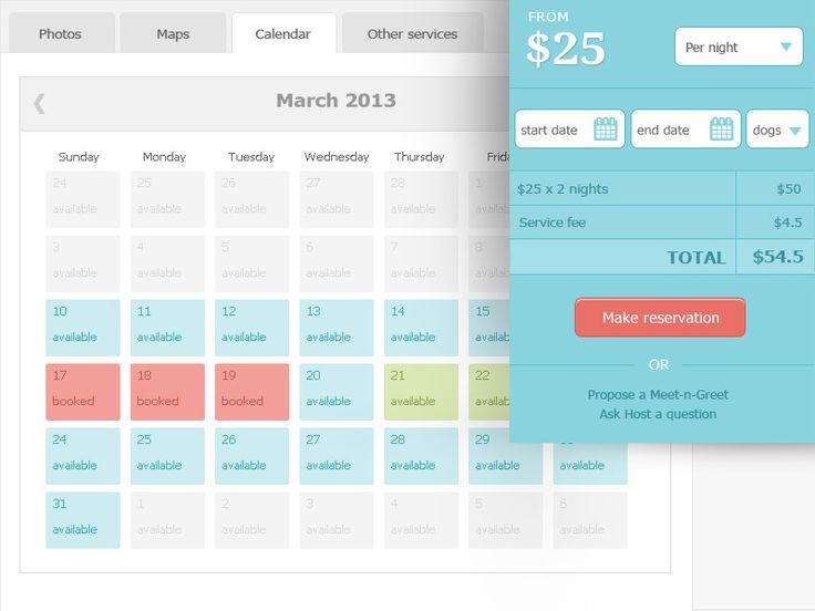 Calendar Booking Ui : The best images about ui design on pinterest jumpers