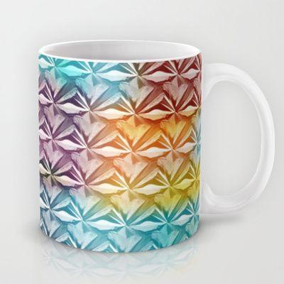 PYRAMID PATTERN Mug by hardkitty - $15.00