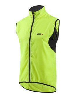 Louis Garneau Nova Vest - Men's Bright Yellow, L - Men's - http://ridingjerseys.com/louis-garneau-nova-vest-mens-bright-yellow-l-mens/