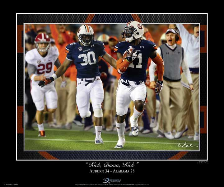 17 Best Images About Auburn Football Art Prints And Photos