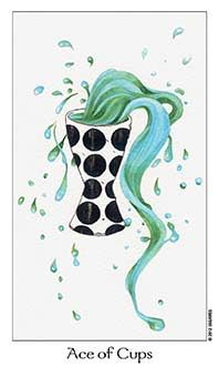 June 21 Tarot Card: Ace of Cups (Dreaming Way deck) This is the beginning of something beautiful. Open your heart to healing, nourishment, positivity, and love now. If you are not open, you cannot receive it