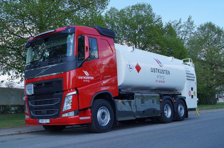 https://flic.kr/p/H4wtUy | JG åkeri AB | 2016-05-10 Leverans av en Volvo FH 540, 6*2 tankbil påbyggd av tankman.