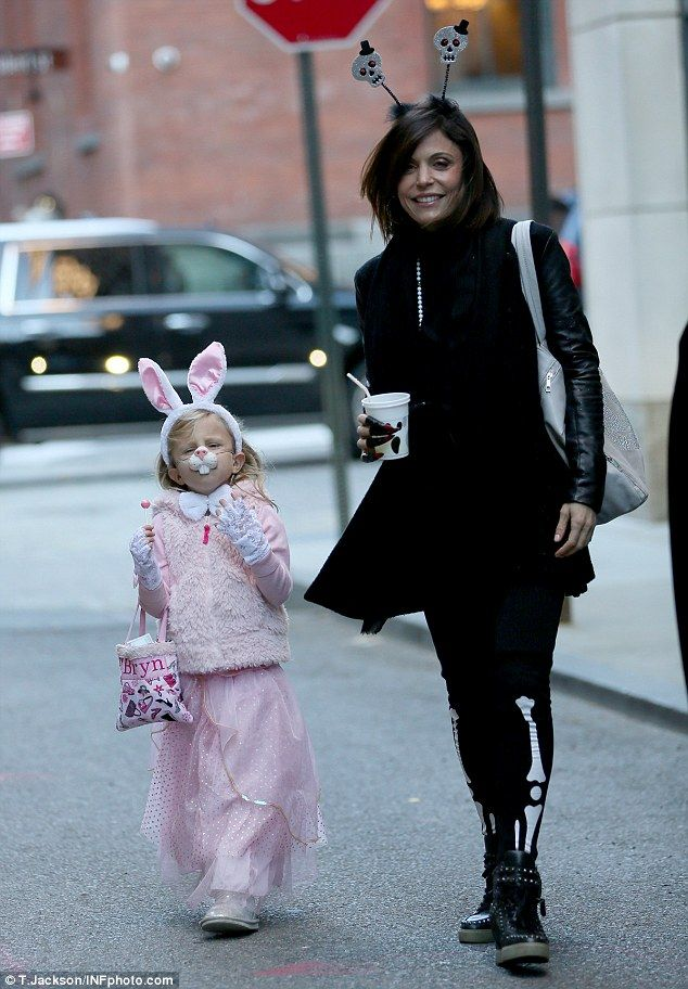 Back at it! After celebrating the spooky holiday on Thursday, Bethenny Frankel donned another costume as she stepped out with daughter Bryn for a Halloween party in New York city on Friday