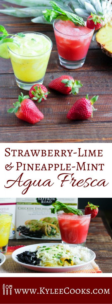 Cool off this summer with  refreshing (and non alcoholic) Agua Fresca, made easy…