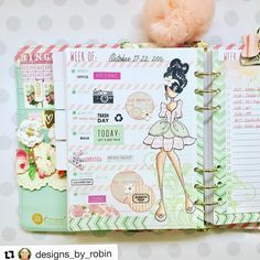 #Repost @designs_by_robin ・・・ Here's a look at my week.  This is a quiet one thank goodness.  I used the new @julie_nutting My Prima Planner. #julienutting #primamarketing #myprimaplanner #planner #plannerlove #planneraddict #plannercommunity #plannergirl #MPP
