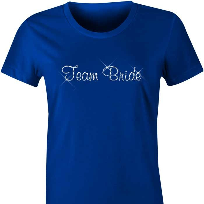 Team Bride Diamante TShirt / Singlet