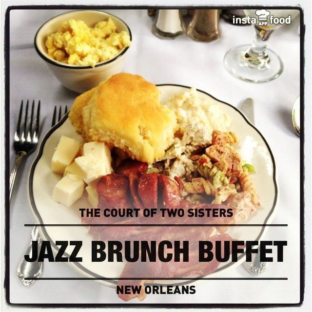Serves jazz brunch daily until 3:00 p.m.