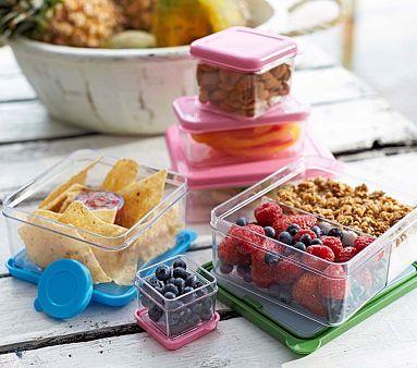 Spencer Clear Food Storage Set Of 4 Pbkids Bento