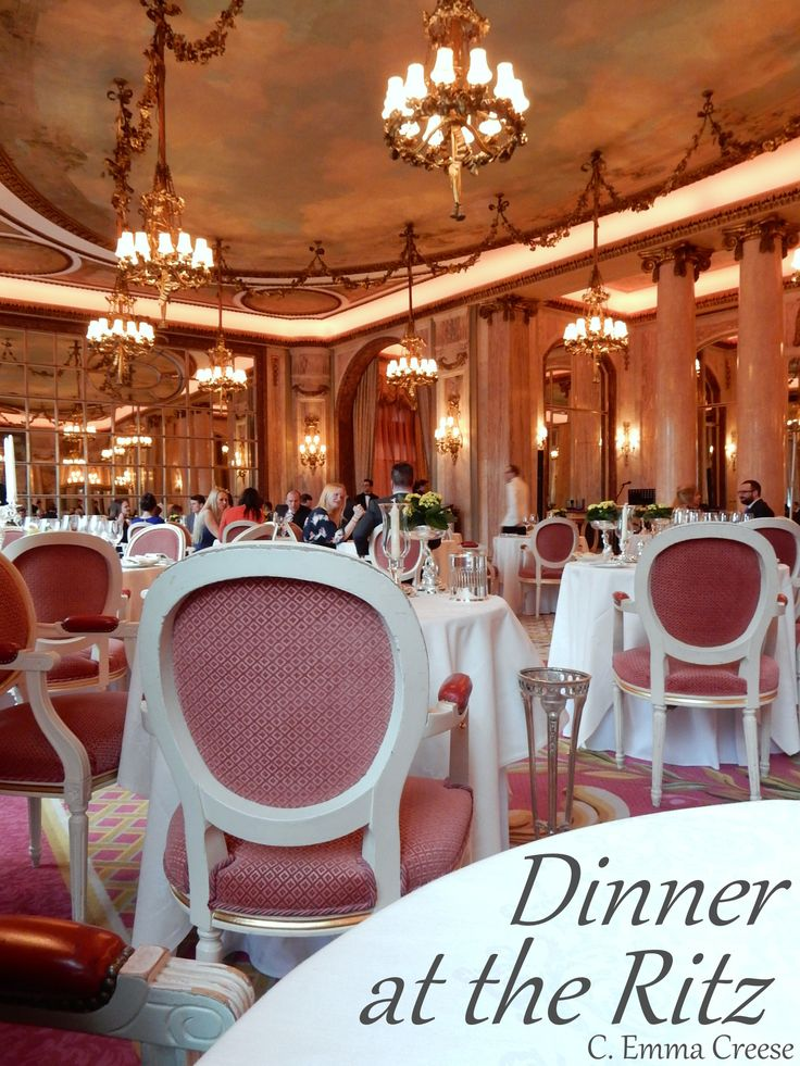 Dining at The Ritz 35 best Guestrooms