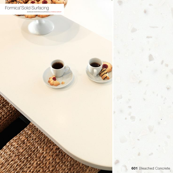 Formica Solid Surfacing Is A Beautiful, Clean Solution For Your Next  Kitchen Or Bathroom Countertop. Here Is 601 Bleached Concrete