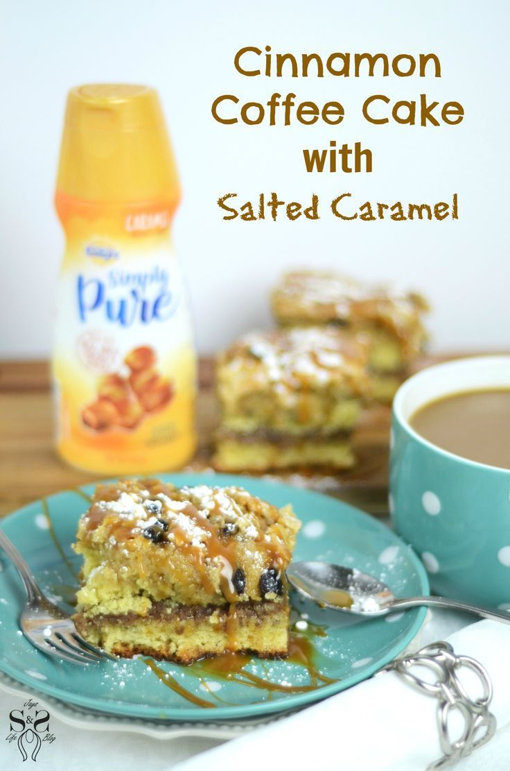 Cinnamon Coffee Cake with Salted Caramel Recipe