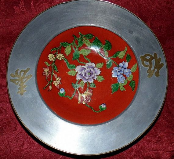 JAPANESE PORCELAIN Bowl Pewter/Brass by SimplyMarvelousMary
