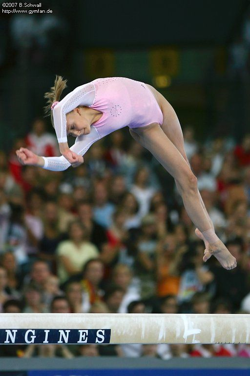 Anastasia Liukin (USA) world championships 2007  Stuttgart, 08/28/2007 - 09/09/2007  apparatus finals day 2 #KyFun