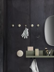 Kjøp Muuto - The Dots Metal Black hos Woroom.no - Interiør på nett