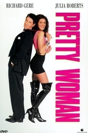 "Julia Roberts' head was superimposed on the body of famous body double Shelley Michelle for the poster. | 19 Things You Probably Didn't Know About ""Pretty Woman""                                                                                                                                                      More"