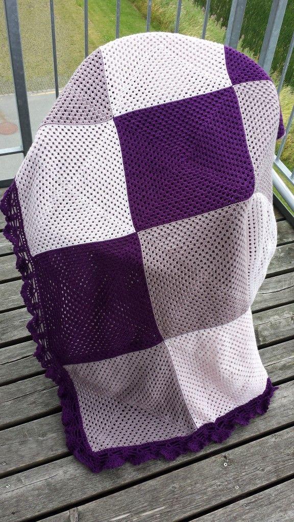 Crochet afghan - granny squares