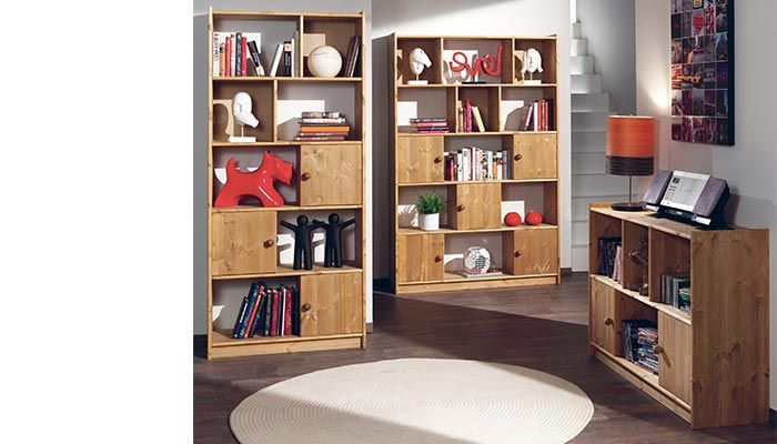 etag re biblioth que symphony meuble tv tag re pin. Black Bedroom Furniture Sets. Home Design Ideas