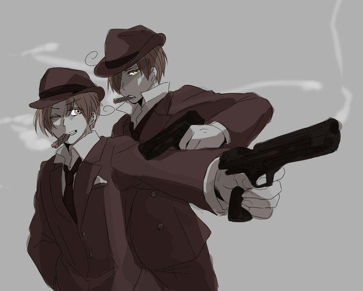 Romano / Italy / Mafia / Hetalia