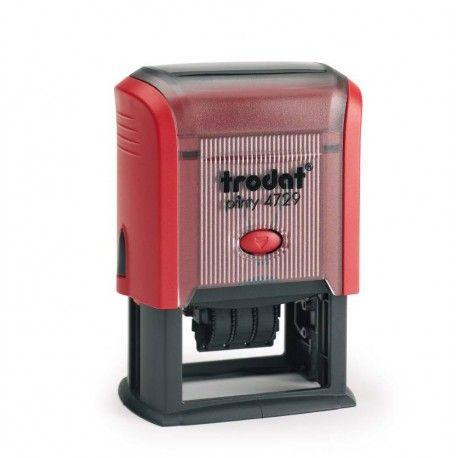 Sello Fechador Trodat Printy 4729 para uso en oficinas, manualidades o para estampar lo que desees.Estampa texto, imagen, logo empresarial, imagen decorativa, íconos, etc