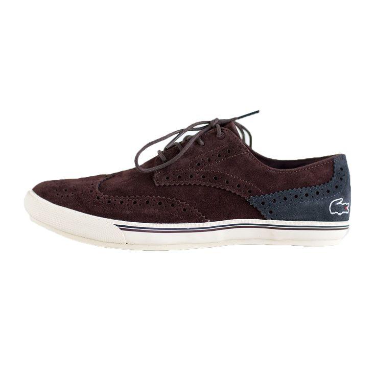 LACOSTE - FAIRBROGUE 728SRM41021V9 - burg shoes LACOSTE - FAIRBROGUE 728SRM41021V9 - burg shoe