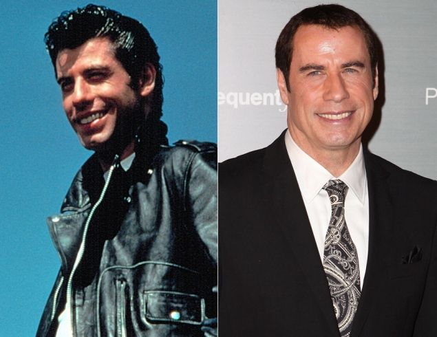 Grease Cast Then and Now | ... Travolta (Danny Zuko) - 'Grease': Where Are They Now? - NY Daily News