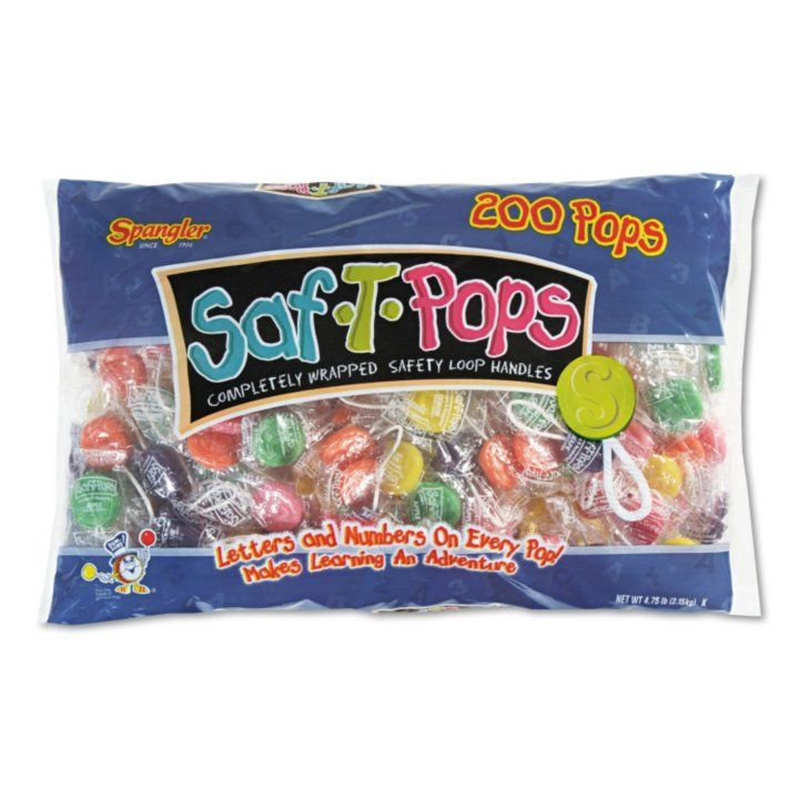Sam's Club - Spangler Saf-T-Pops (200 ct.)