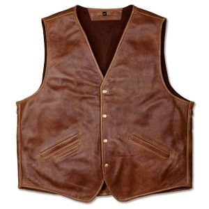 Nra Coronado Laredo Concealed Carry Leather Vest 2nd