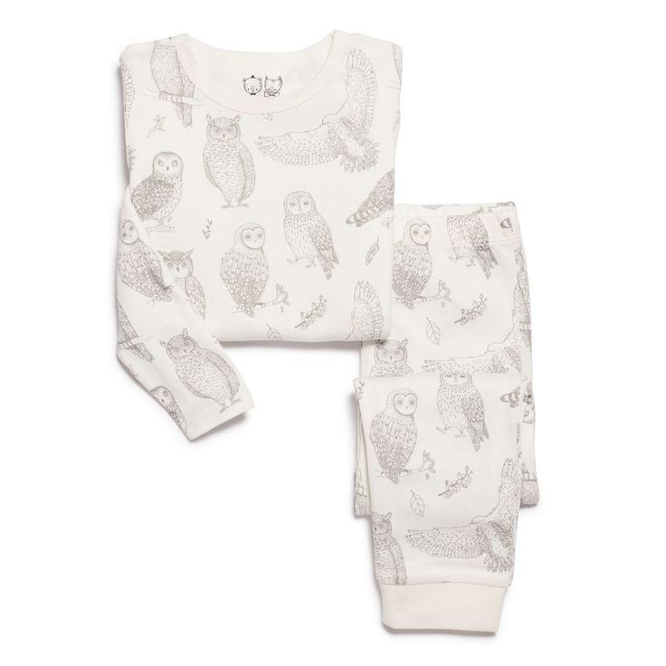 Hoot, Hoot! Beautiful owls all over these soft and cosy pyjamas. Made from 100% organic cotton.   #wilsonandfrenchy #babystyle #sleepwear #kidspyjamas #organiccotton #baby #fashion #unisex #babylove #perfectbabies  #unisexbabyclothes  #newmum #babygift #babyshower #australiandesign #shopbaby #mumsunite #babylove #magicofchildhood #little