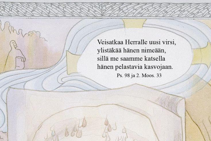 Aarreaitta. Keskusteluja. Artikkeli: Raamattu ja kuvataide. Kirkkovuoden kuvat, Kalevi Mustonen.