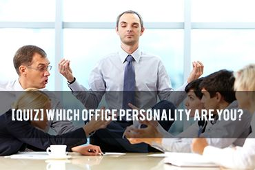 Have a little fun in the office this morning with our office personality quiz!