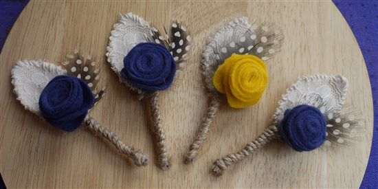 DIY Buttonholes *Flash* - wedding planning discussion forums