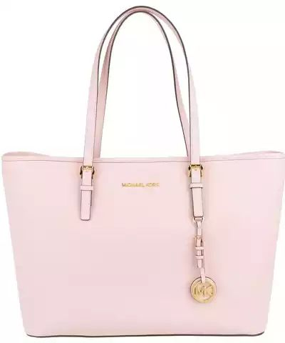 Michael Kors Sacs portés main, Jet Set Travel Multifunction Tote Blossom en rose pâle