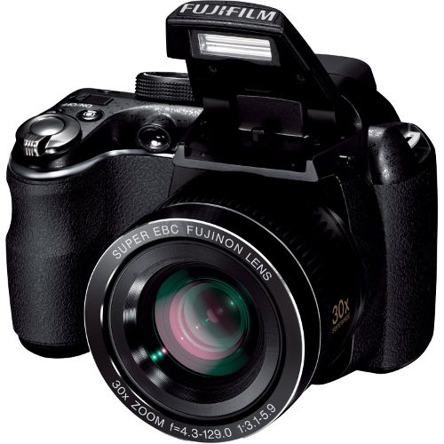 Fuji Finepix S4000 Digital Camera - 14MP - 30x Optical Super Wide Angle Zoom - Refurbished | Cameras and Camcorders | Visions Electronics