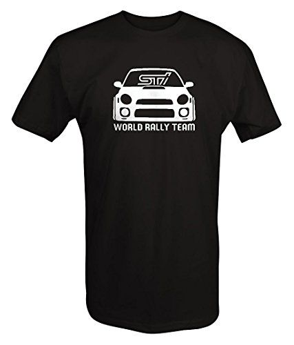 Subaru STI WRX World Rally Team Racing Bug Eye T shirt -Medium:   Display your passion with this Short Sleeve T-shirt. Subaru STI WRX World Rally Team Racing Bug Eye T shirt -Medium Professionally Produced with American Pride when purchased from Lifestyle Outfitters Brand!