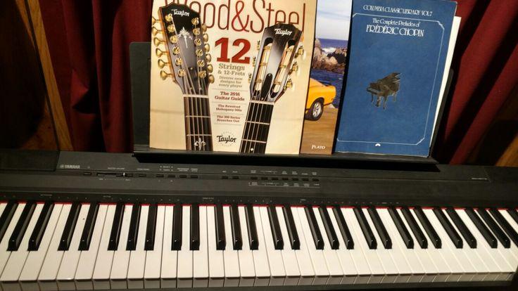 Yamaha P-105 Digital 88 key Piano Read Review here whatdigitalpiano.com