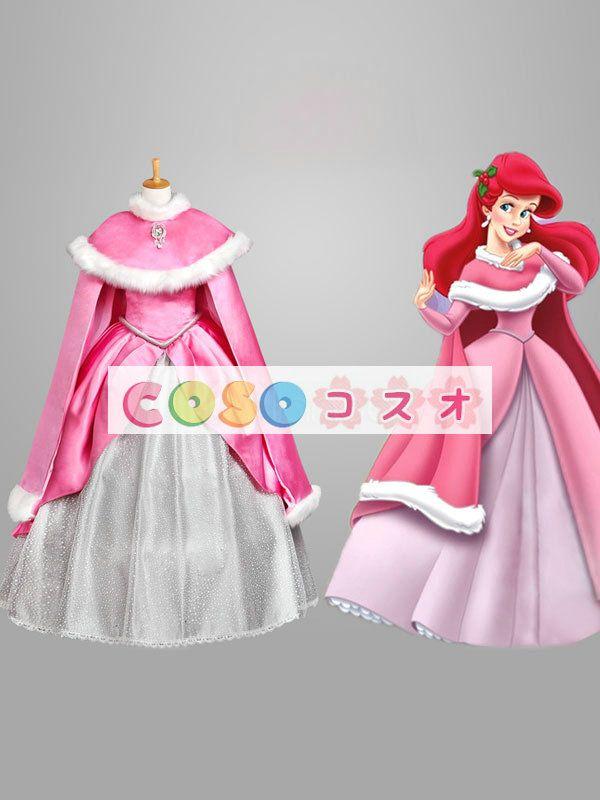 ハロウィン ピンク 眠れる森の美女 コスチューム 童話 プリンセス 女性用 コスチュームコスプレ―festival-0044