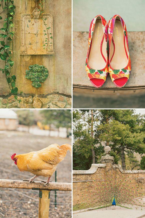 Spanish Wedding Inspiration by Alixann Loosle #weddings #fashion