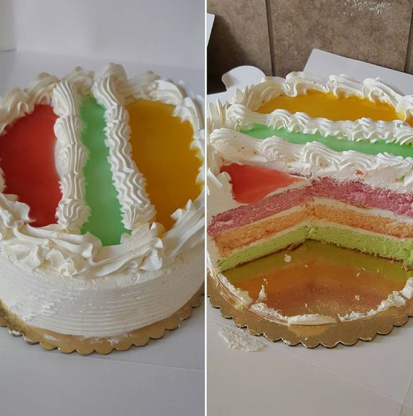 King's Hawaiian Bakery and Restaurant. Hawaiian Paradise. Three layer (guava, passion, lime) chiffon cake filled with whipped cream and topped with guava, passion and lime fruit glaze.