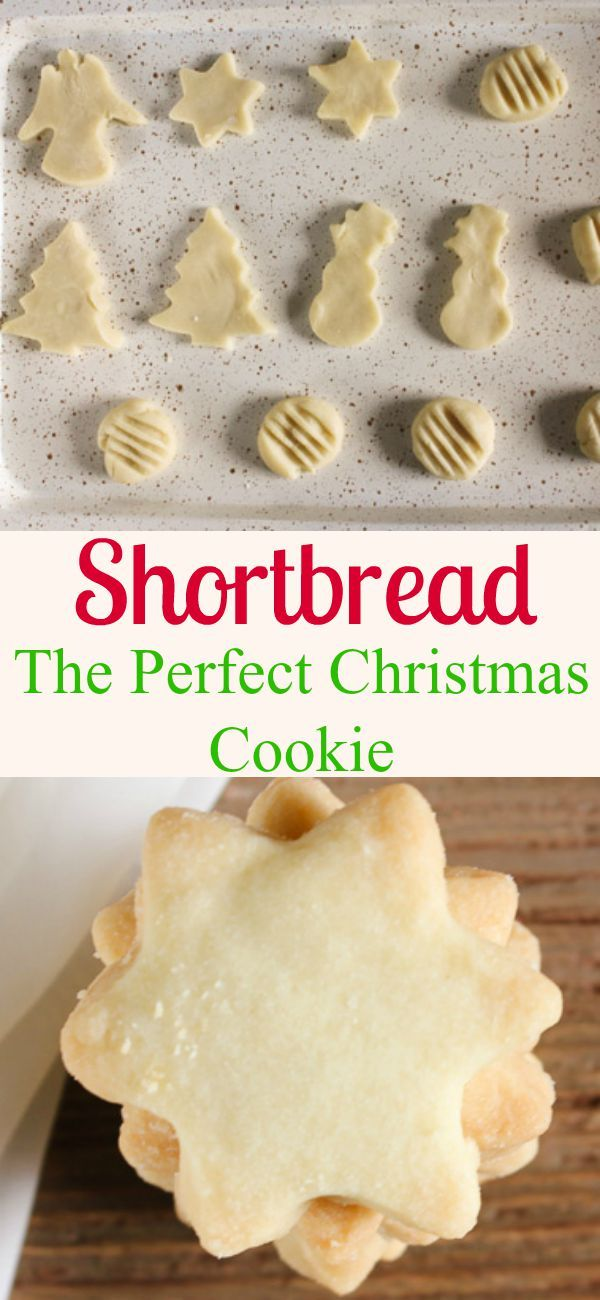 Shortbread Cookies, the ultimate Christmas melt in your mouth cookie. Take your cookie recipe pick, regular or brown sugar. /anitalianinmykitchen.com