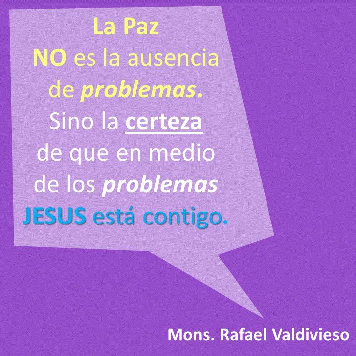 En la Eucaristía por La Paz en el #EncuentroChitré Monseñor Rafael Valdivieso aclaró que estar en Paz no significa no tener problemas.