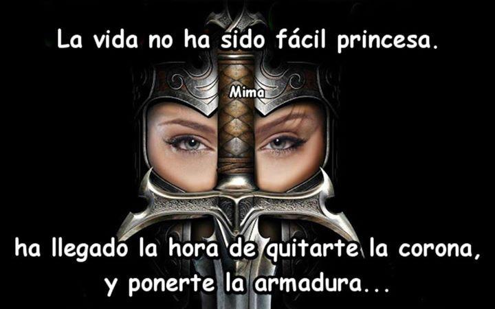 Guerrera de Dios pon tu tu armadura y pelea la buena batalla! Hay victoria en el Señor!