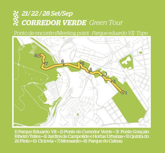 Corredor Verde , Lisboa   Green corridor, Lisbon