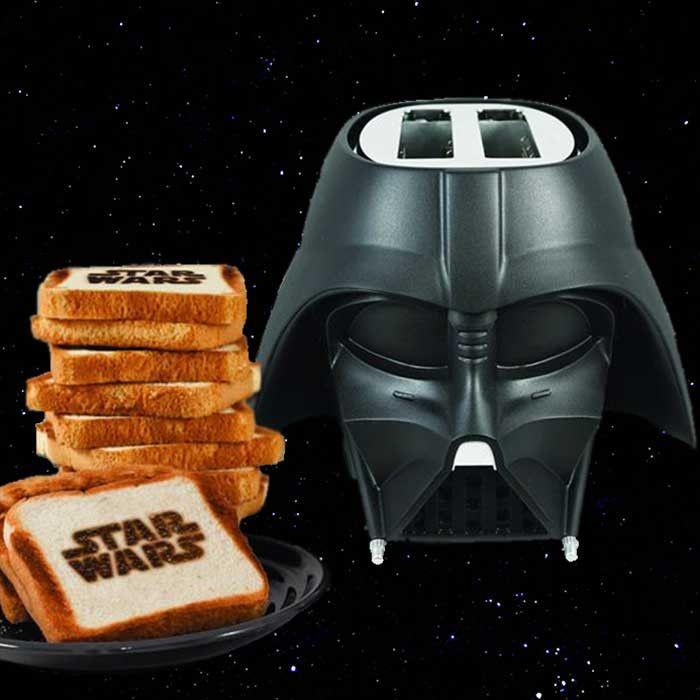 Darth Vader Toaster #giftsformen #giftsforwomen