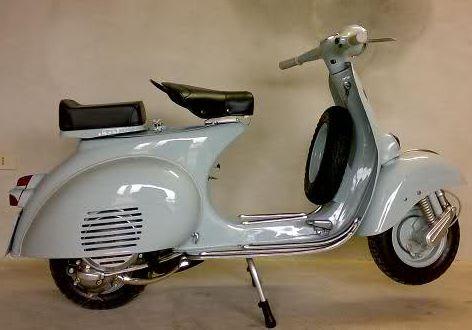 Vespa Farben Grigio Celeste Chiaro 840 Originallack Max Meyer