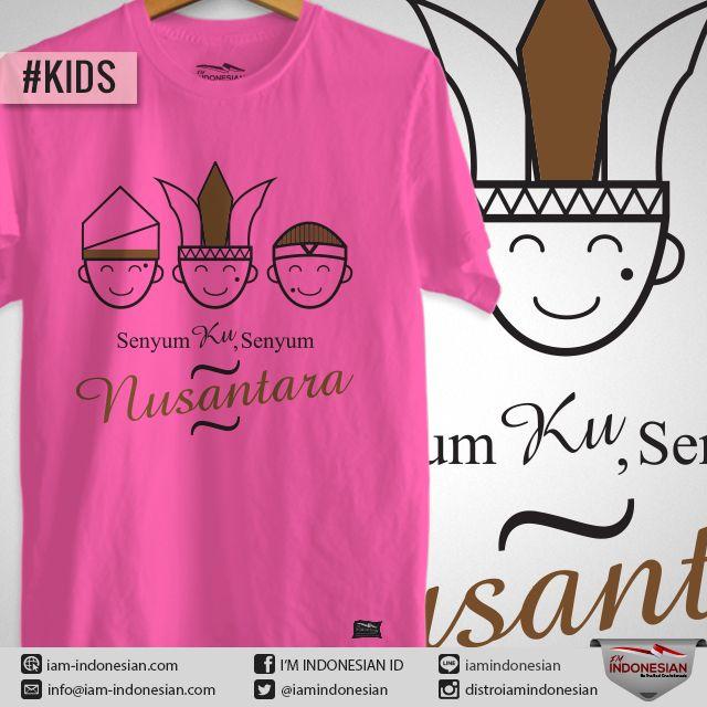Desain Baju Anak-anak, Senyum Ku Senyum Indonesia