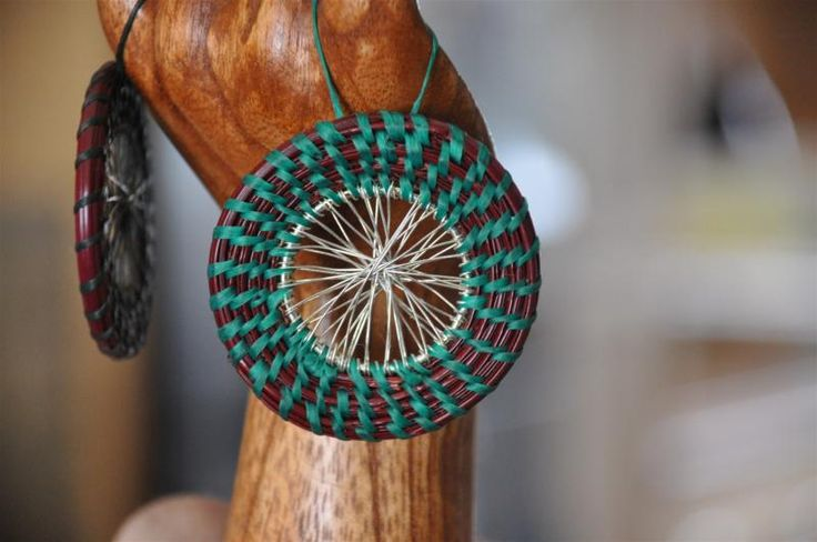 Basket Weaving Ornaments : Best images about palm weaving on