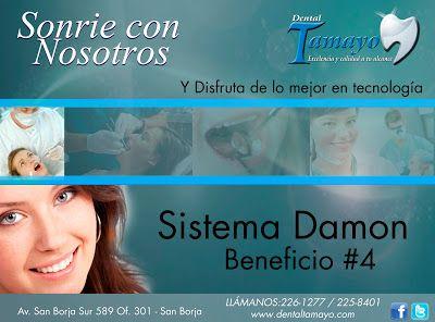 El mejor tratamiento de Ortondoncia. Beneficio #4  http://dentaltamayolima.blogspot.com/2013/07/DentistaLima_2522.html
