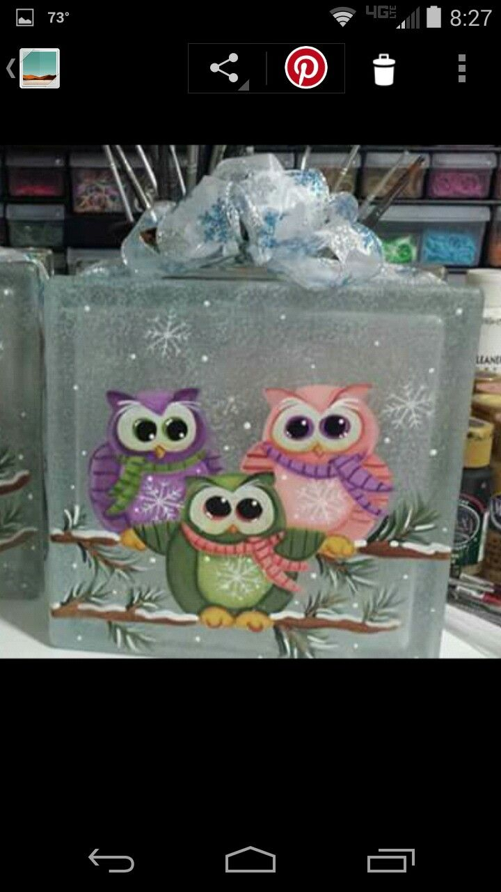 cute - though not necessarily on glass block                                                                                                                                                                                 More